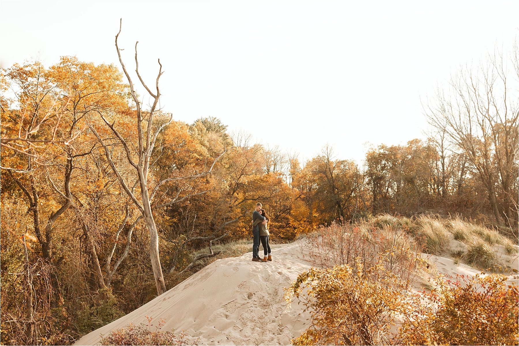 Indiana Dunes Beach Engagement Session_0003.jpg
