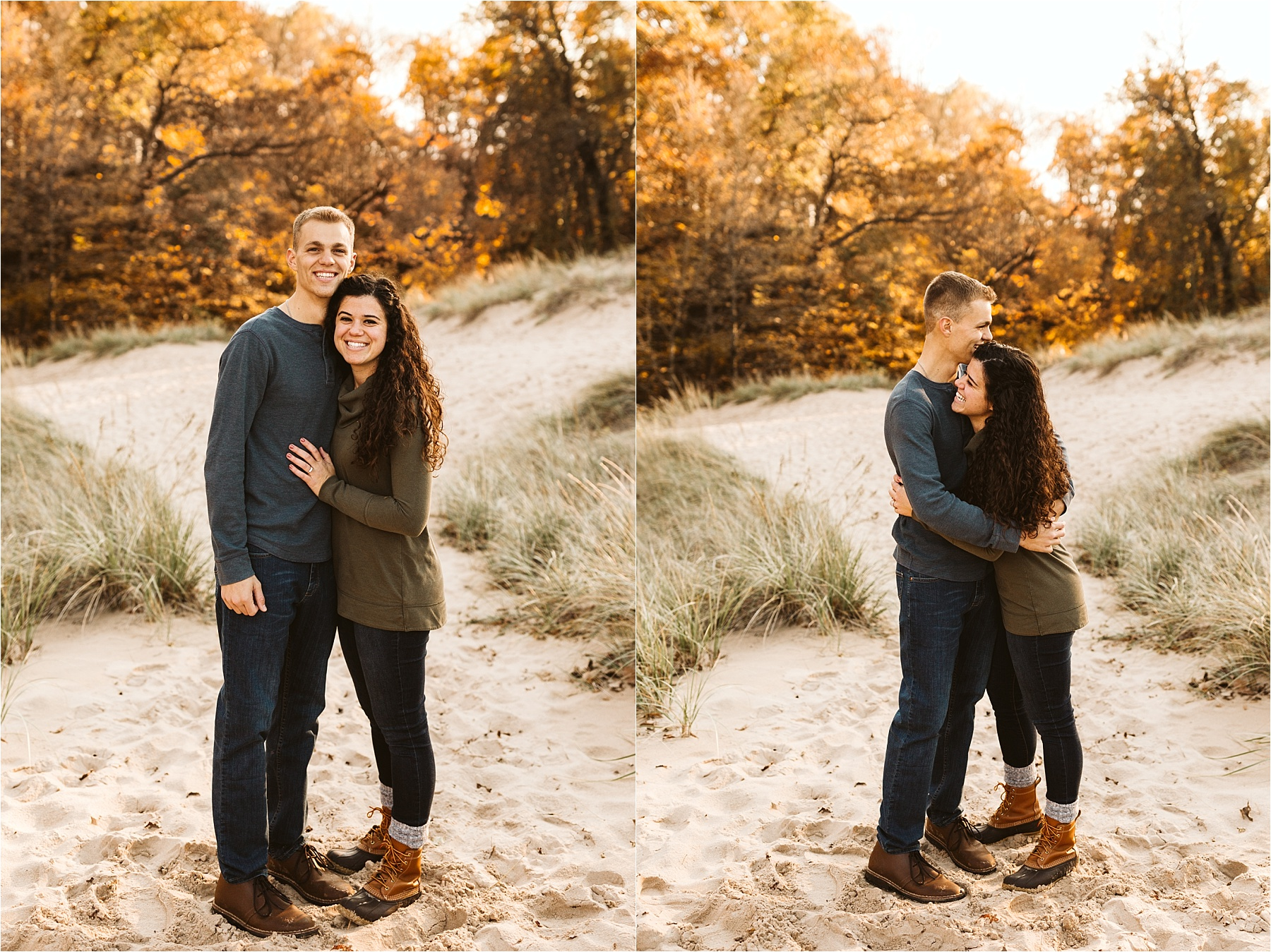 Indiana Dunes Beach Engagement Session_0007.jpg