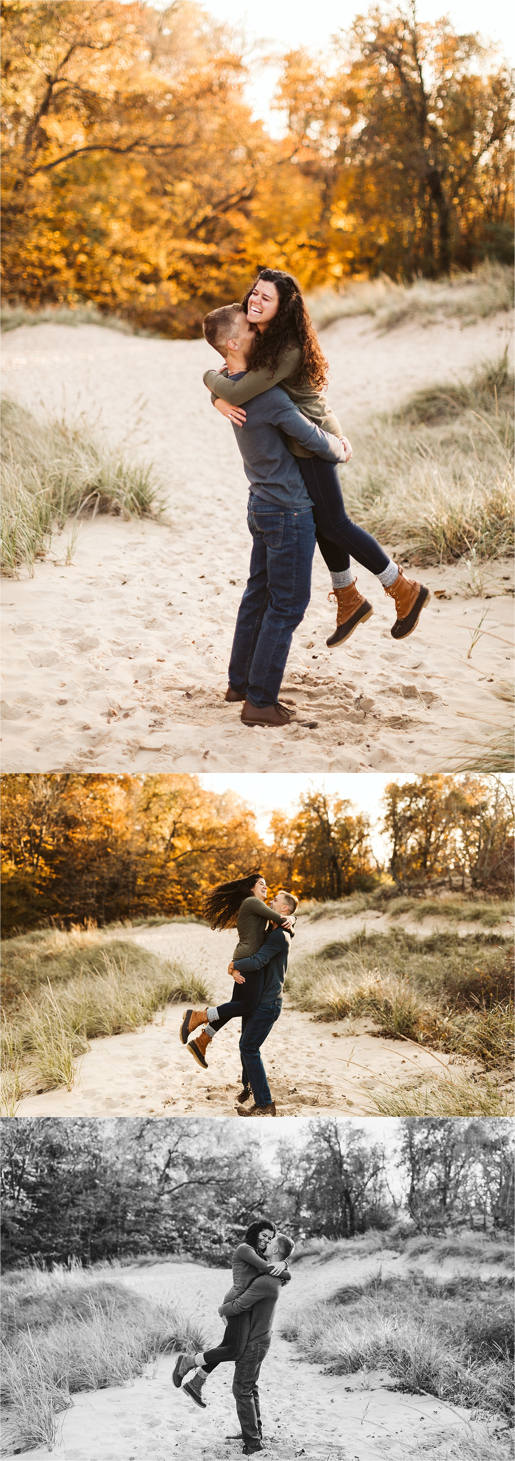 Indiana Dunes Beach Engagement Session_0005.jpg