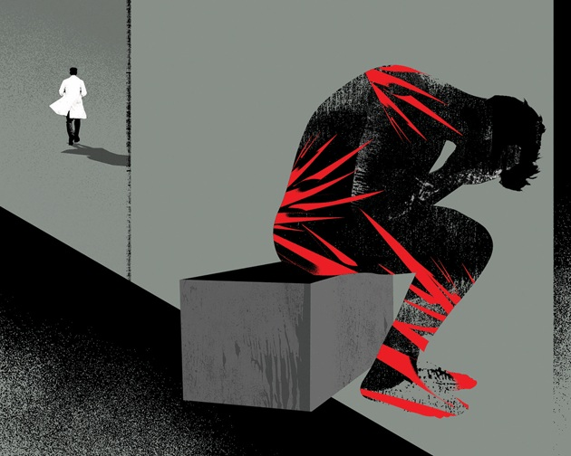 The Pain Refugees    Harper's Magazine