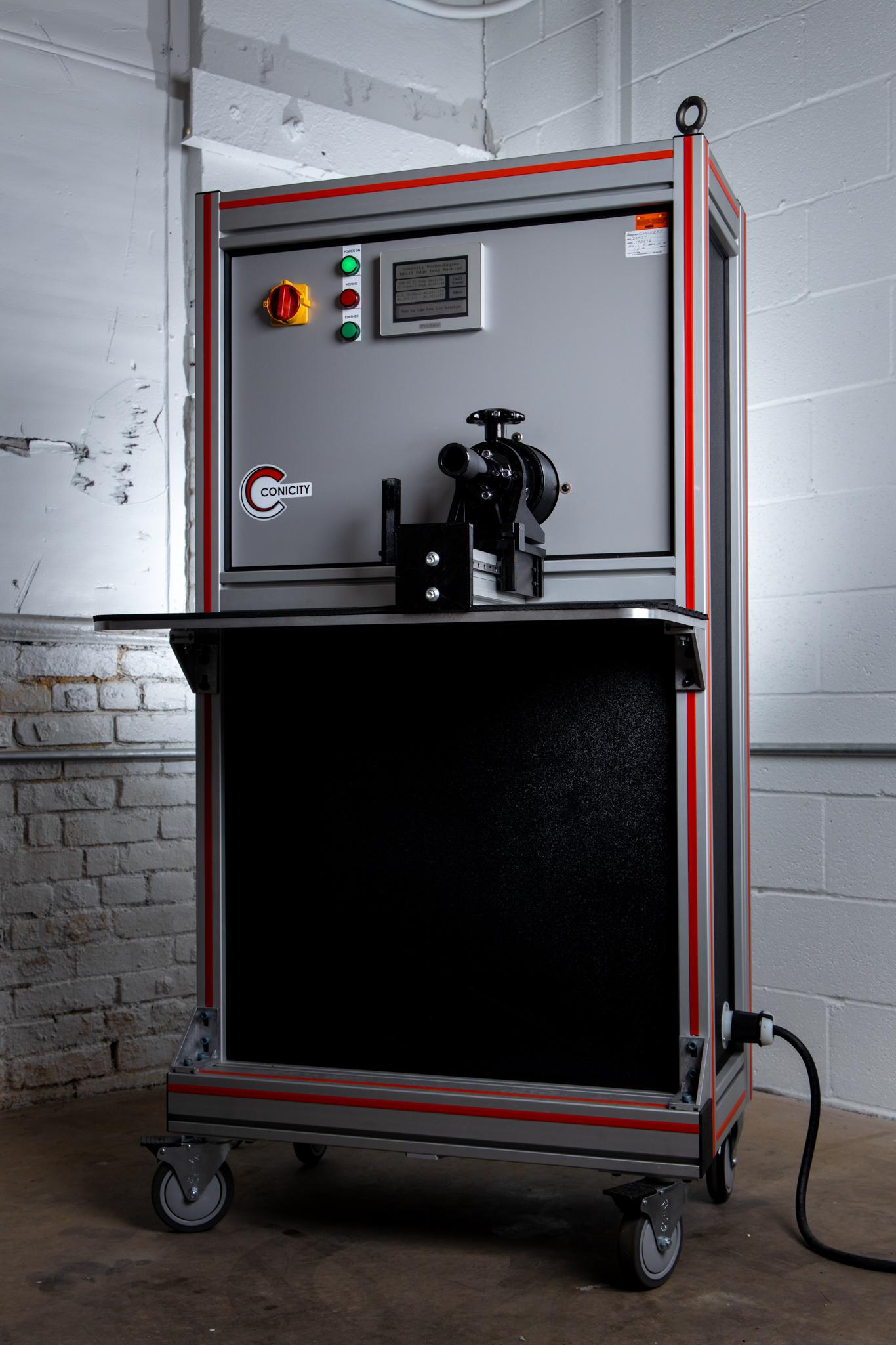 DXM-50EZ Drill Edge Preparation Machine