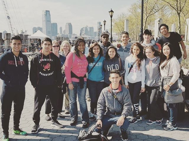 The senior class is invading New York #b16deal🎓 #seniortrip #italybound