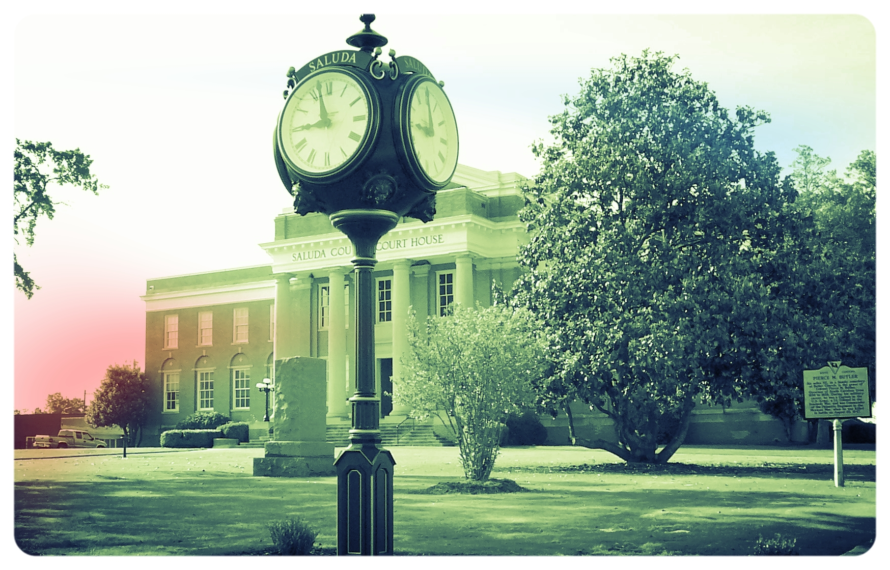 Saluda county Court house