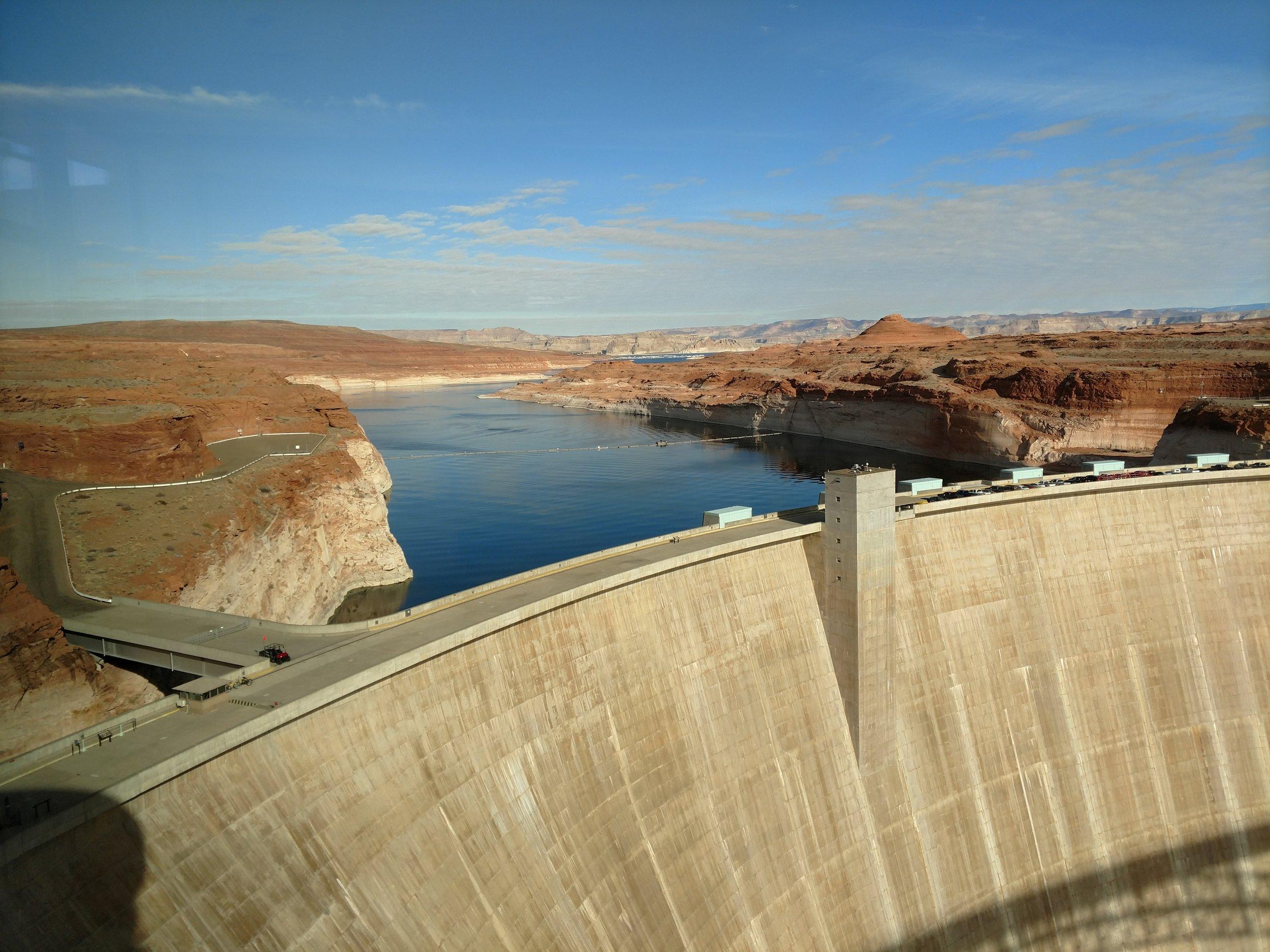Glen Canyon Dam & Lake Powell