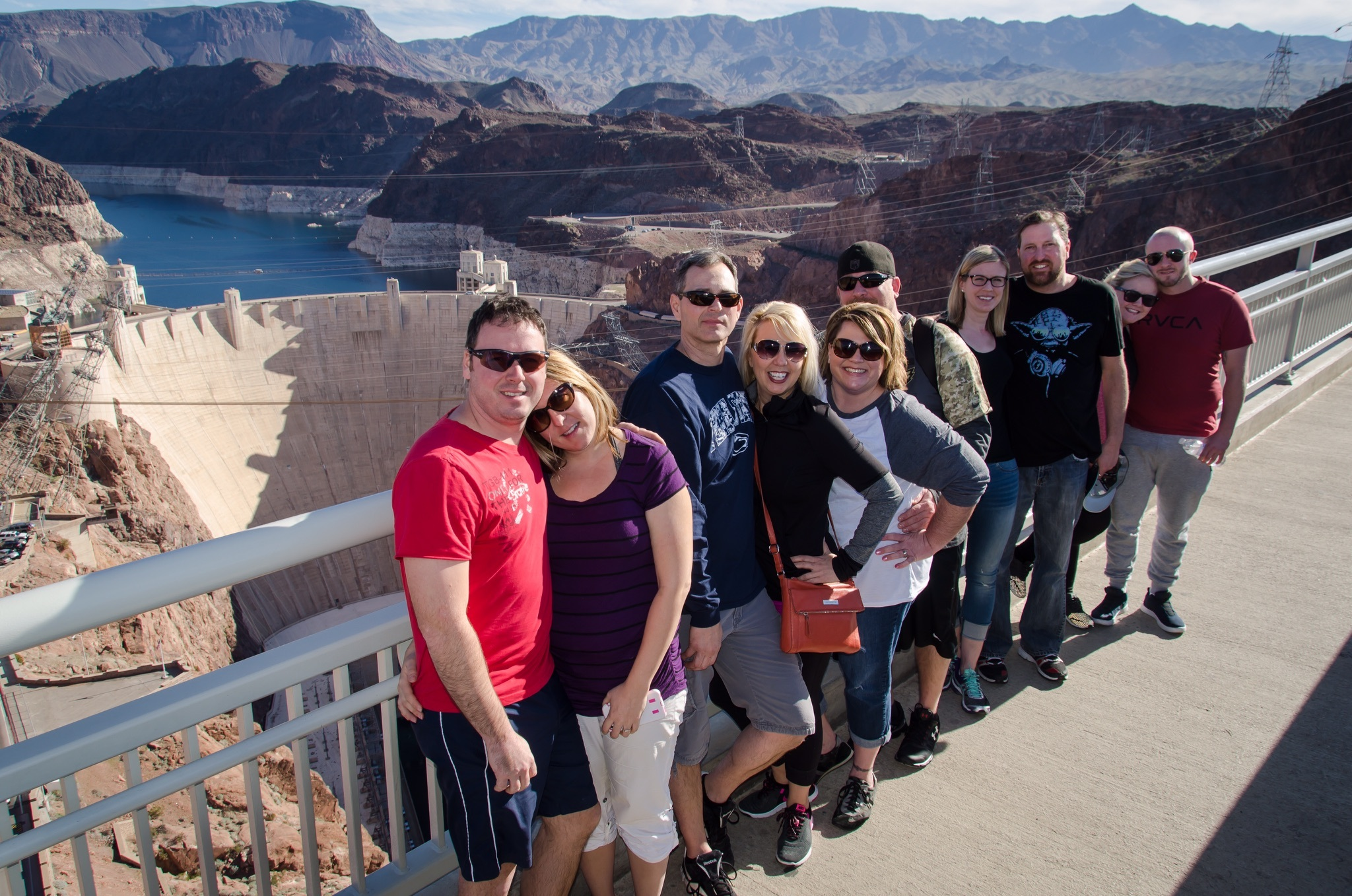 Hoover Dam Photo Stop Grand Canyon Helicopter Tour