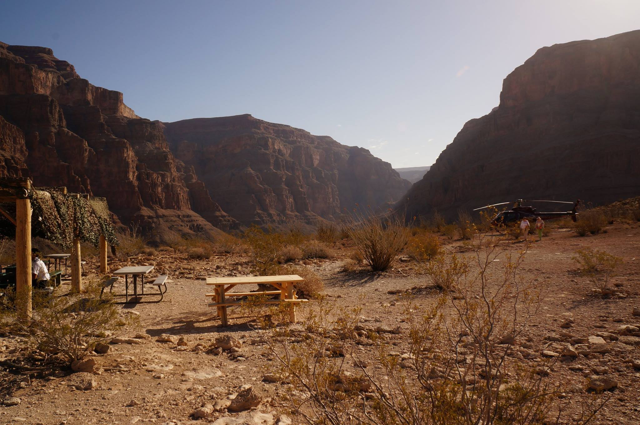 Grand Canyon Helicopter Picnic