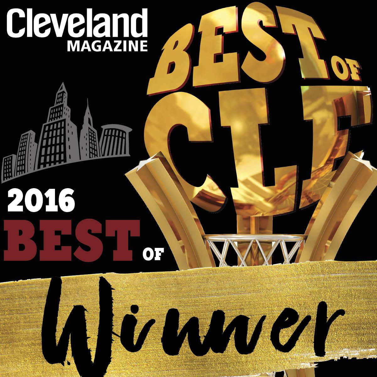 Winner Best Jewelry Best of Cleveland 2016