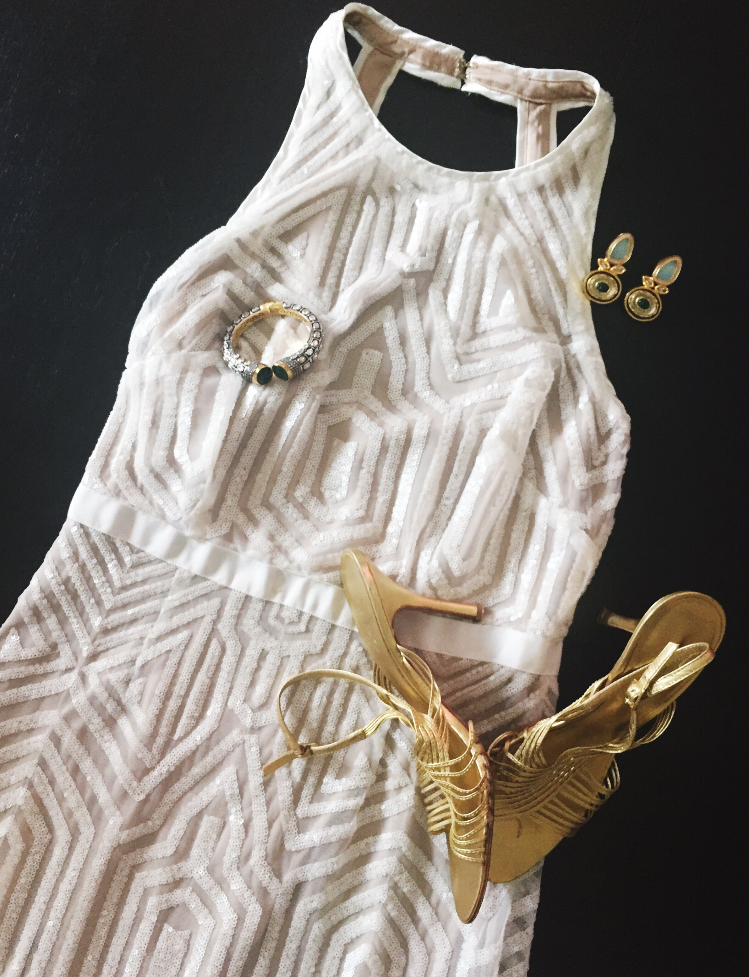 Rent the Runway Dress styled with Jewelry