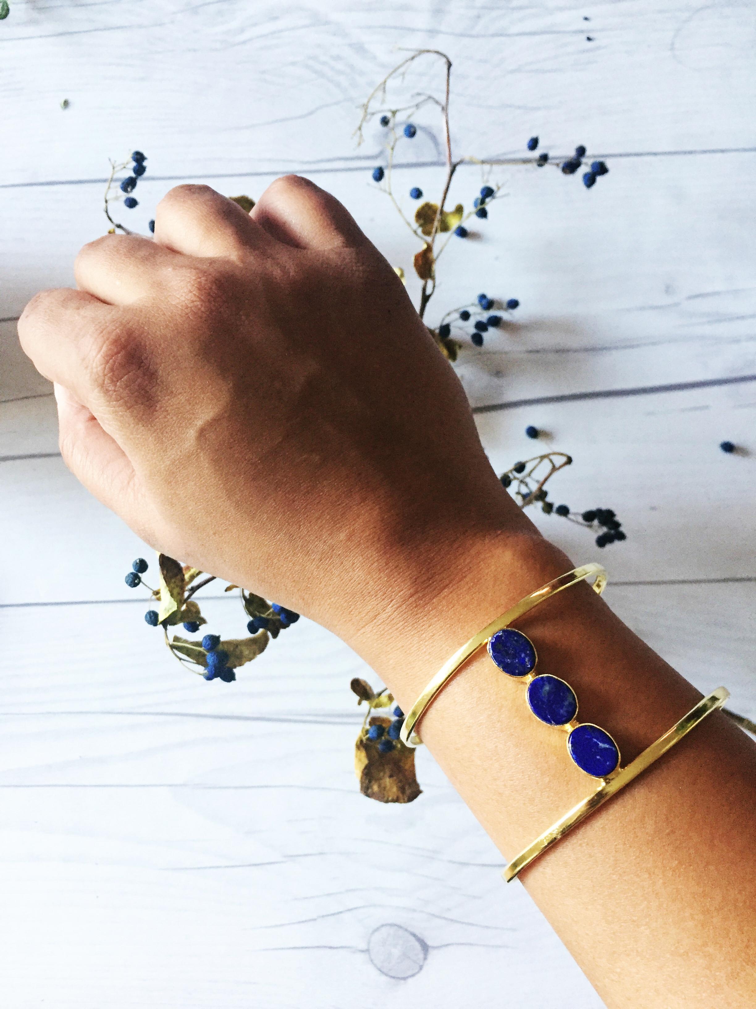 Gold Cuff JAYA Bracelet