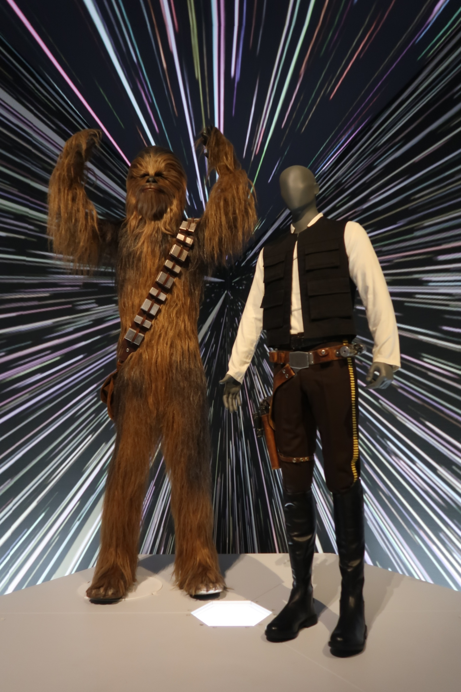 Of course, we HAD to stop by the  Star Wars Costume Exhibit  while in Cincinnati! This is a traveling exhibit, and a must see for any Star Wars fan!