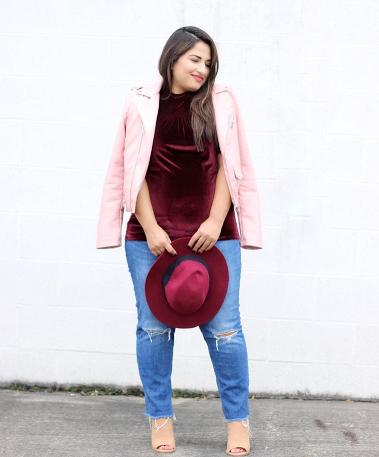 Dina from Dina's Days - Dina is a thrifting pro! She marries texture and color in fun, inventive ways, an best of all, her outfits are usually well under $50!