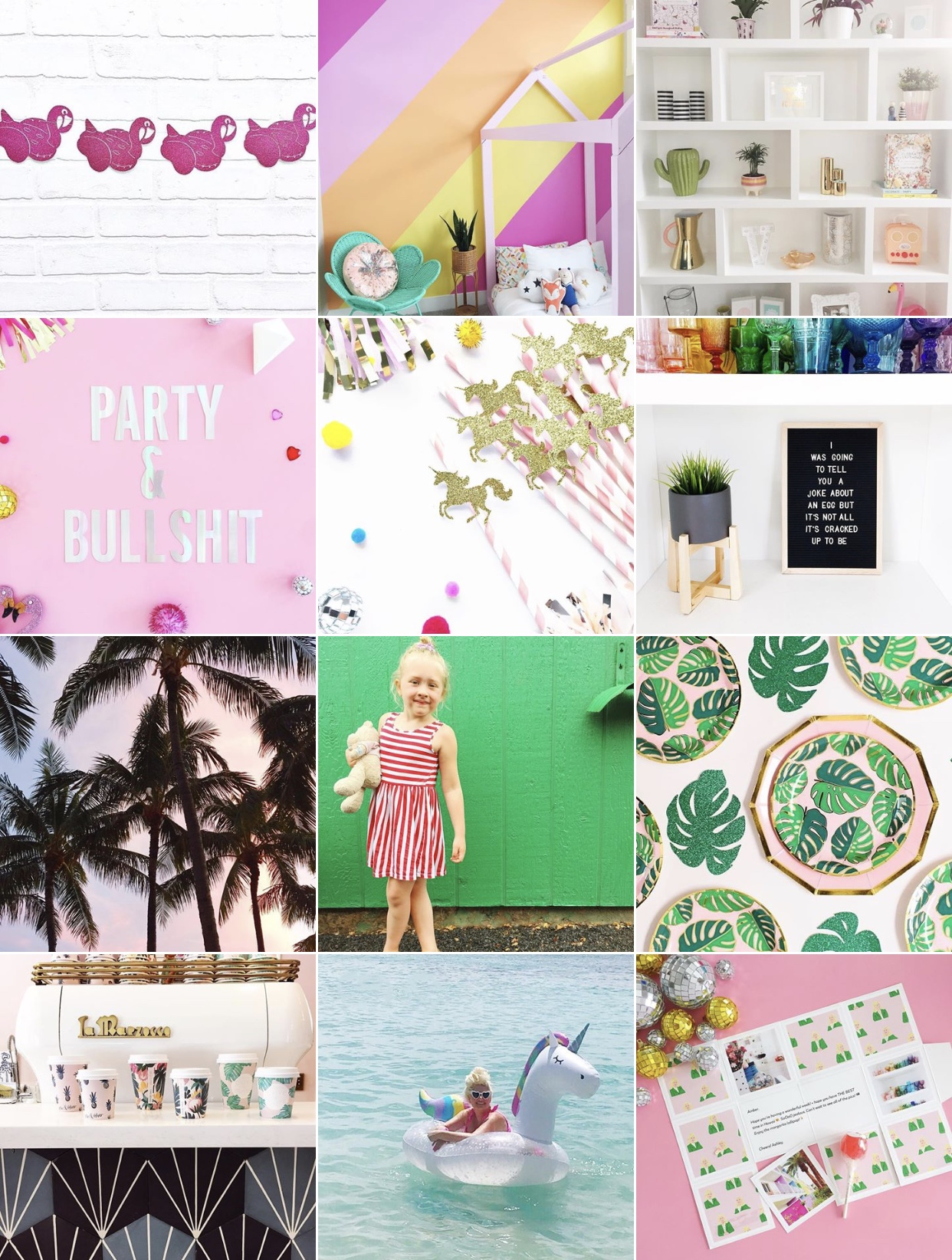 Instagram:    Dixie & Twine  Amber creates the most gorgeous party supplies!