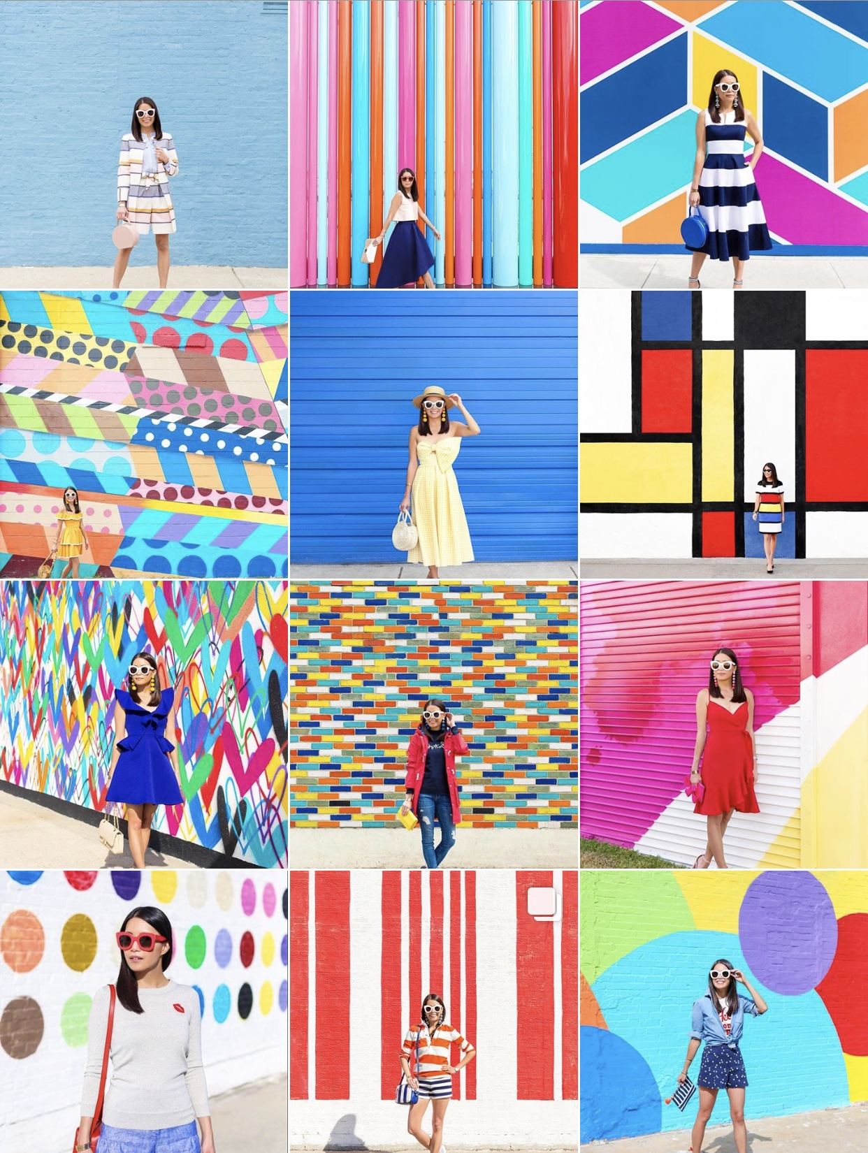 Instagram:  Rosie Clayton   - I LOVE Rosie's feed, and all her colorful walls!