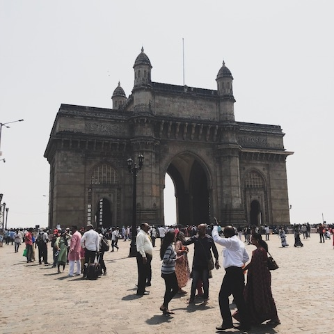 The Gateway of India - it's quite magnificent as far as Gateways go!