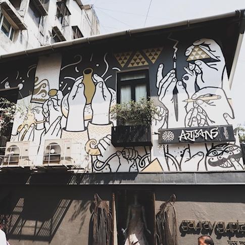 Street Art in Kala Ghoda