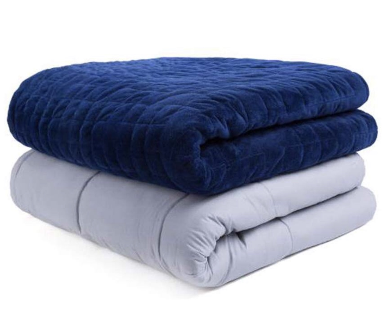 Gifts for the man who has everything:  weighted blanket