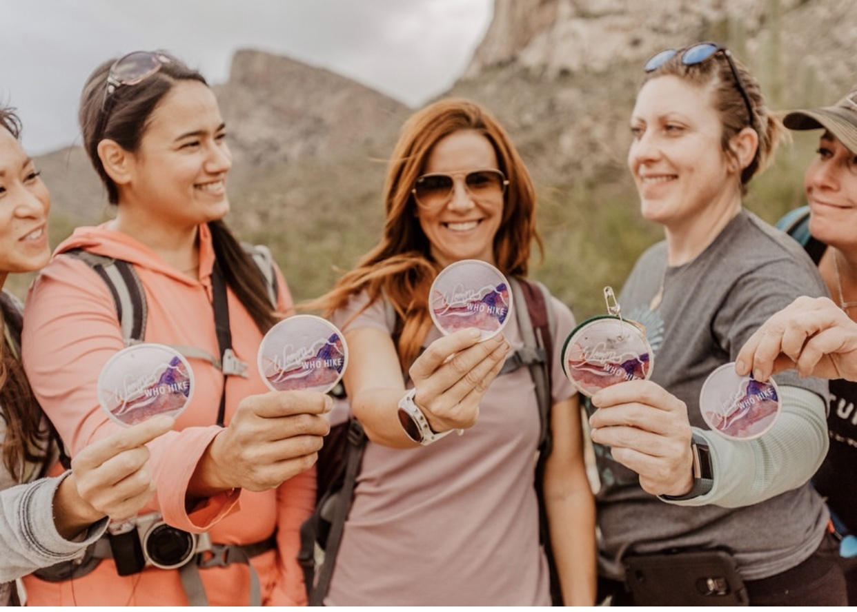 """Photo credit:  Women Who Hike   """"We are here to encourage women to be brave in exploration, proud in accomplishment, and rich in self love."""""""