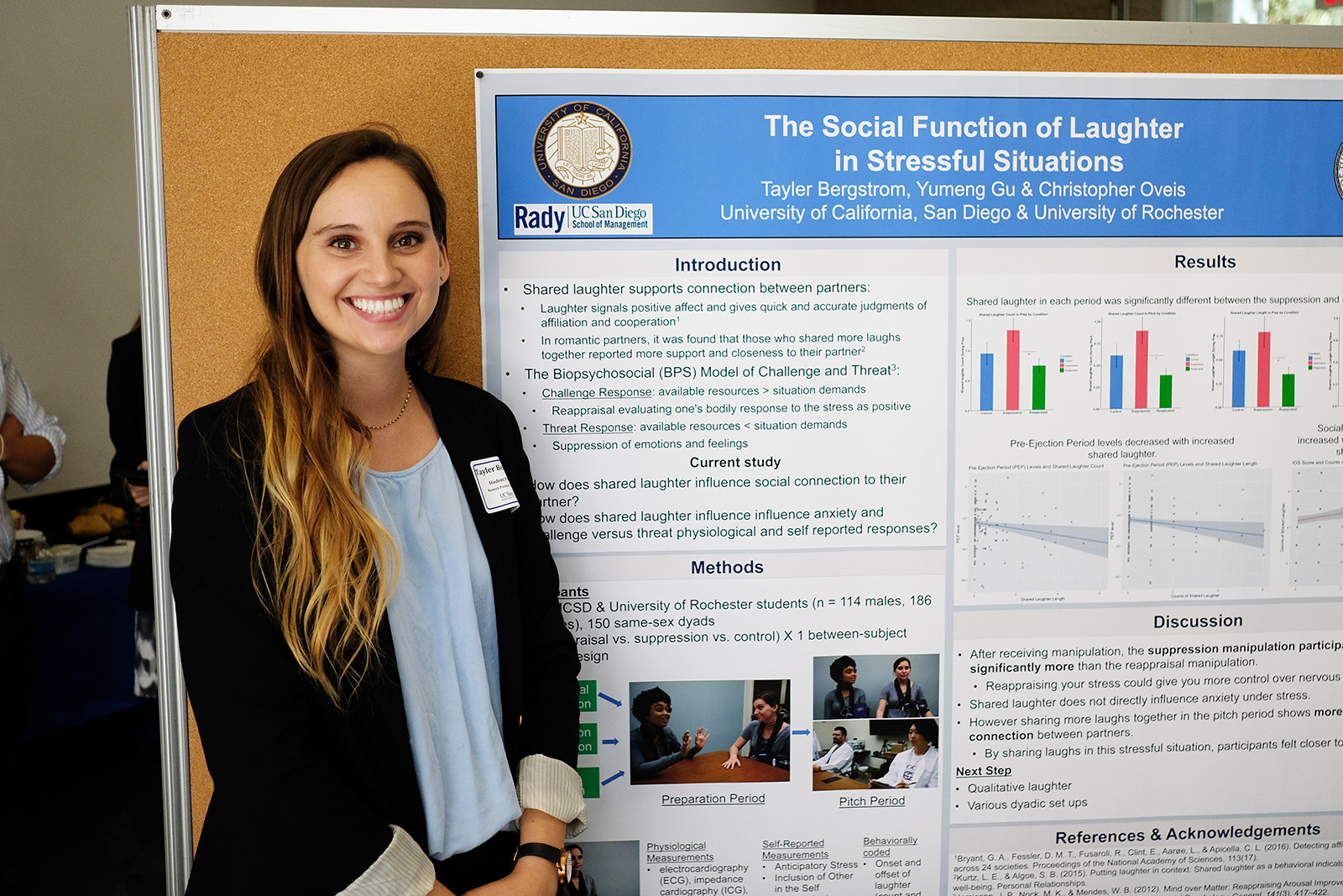 Tayler @ honors poster session june 2018