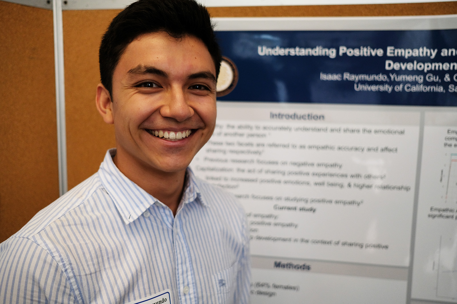 Isaac @ honors poster session, june 2018