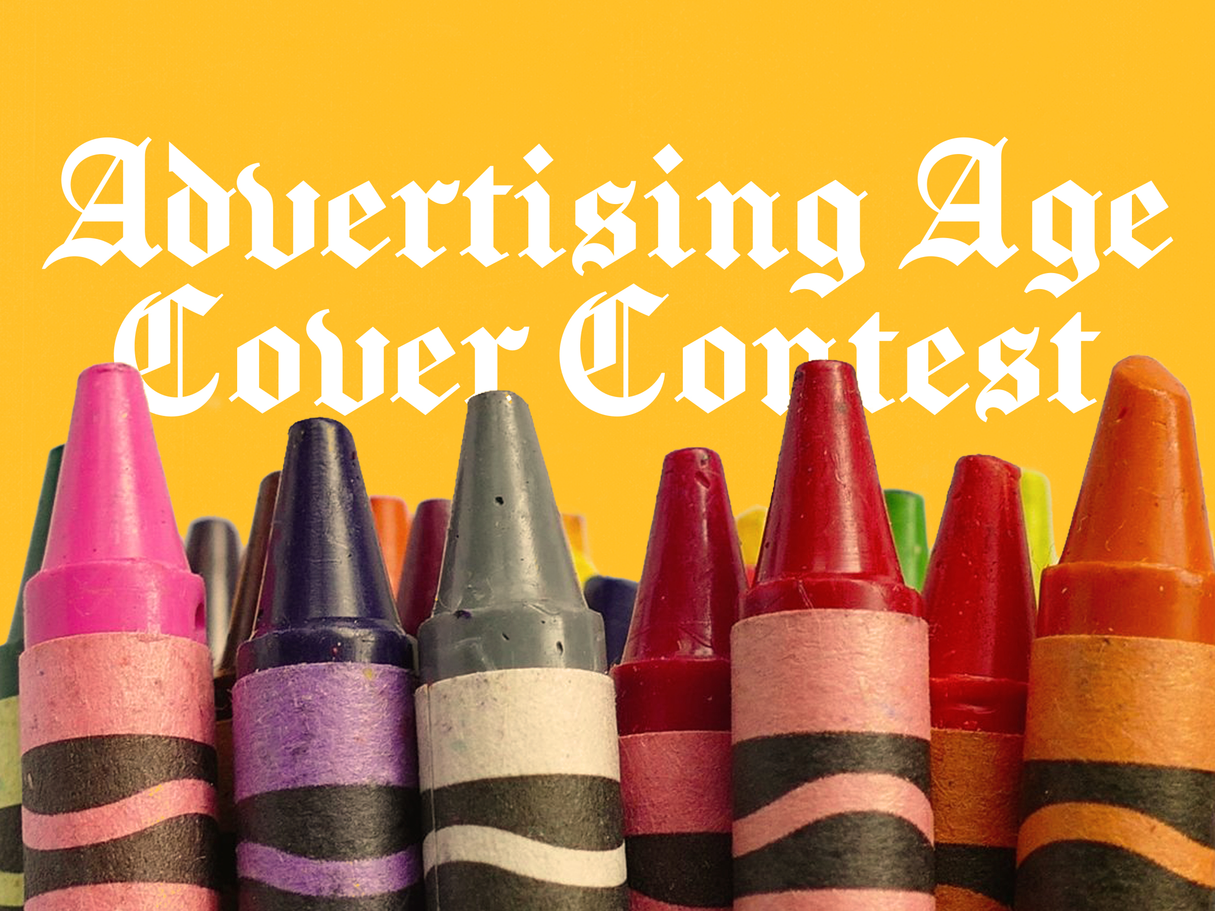 Entry to the Advertising Age Cover Contest (2017)