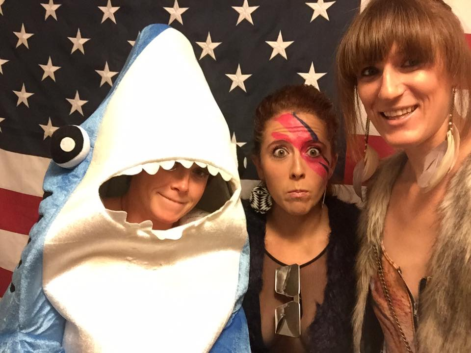 Being a shark. For the first of many times.