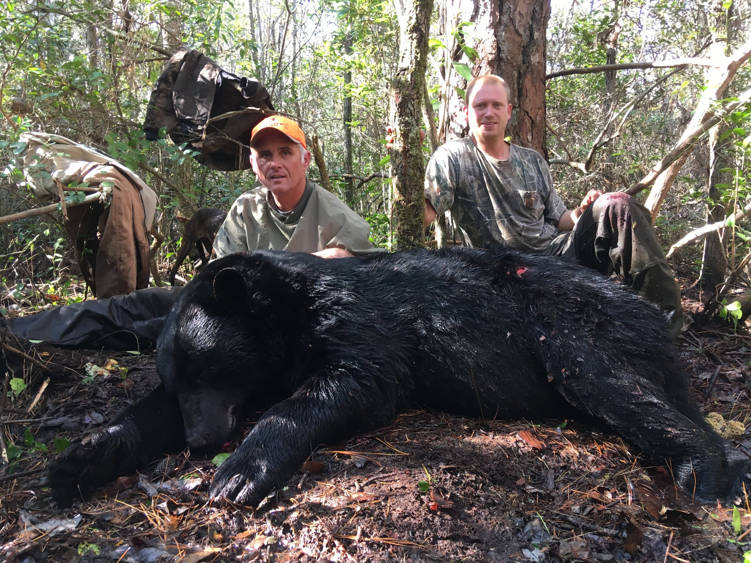 B and D Hunt Club Bear Hyde County
