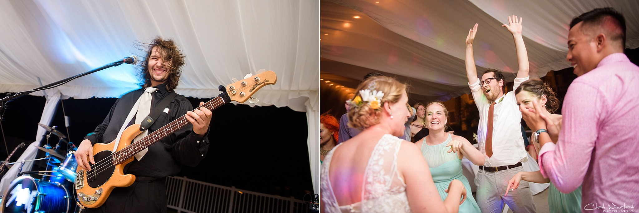 Tiffany & Justin's Wedding at the Islander Hotel and Suites in Emerald Isle, NC by Chad Winstead Photography