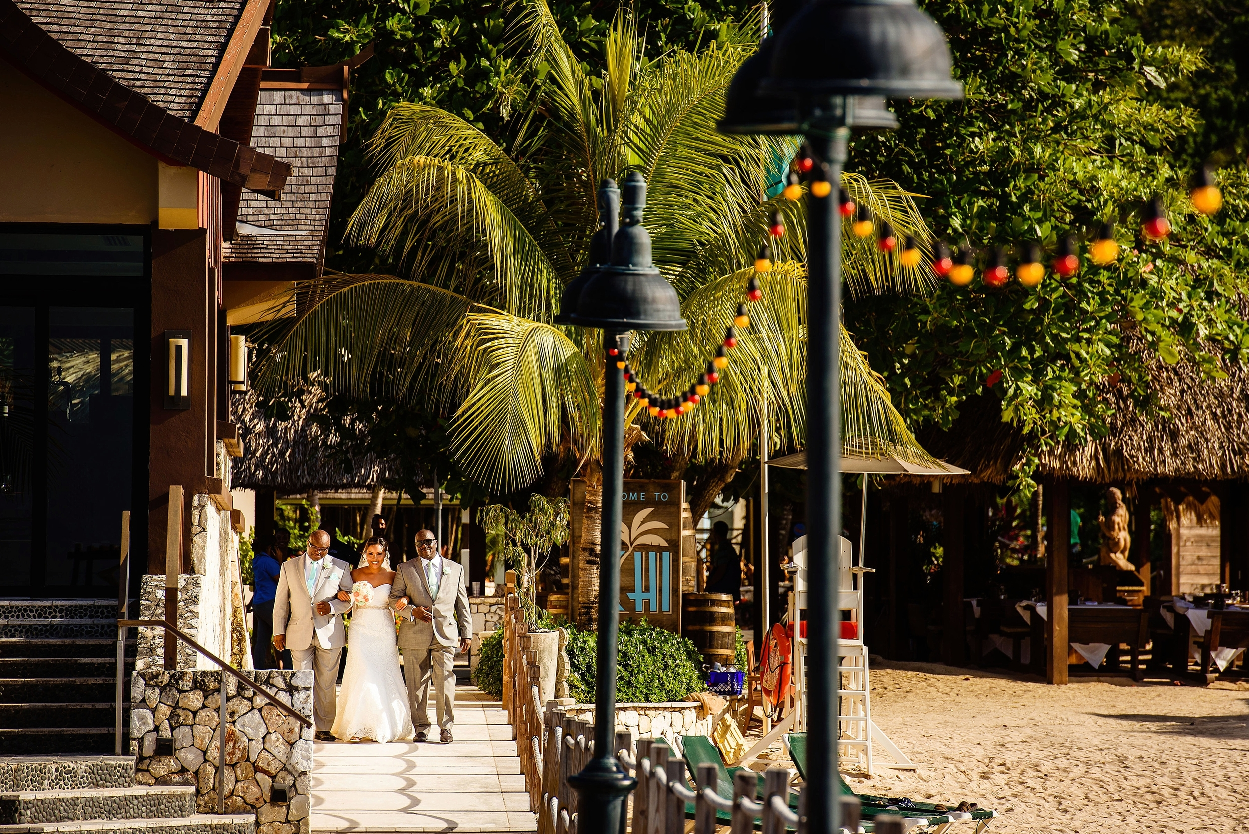 Gorgeous Jamaica Wedding Photography at Sandals Ocho Rios by Chad Winstead Photography