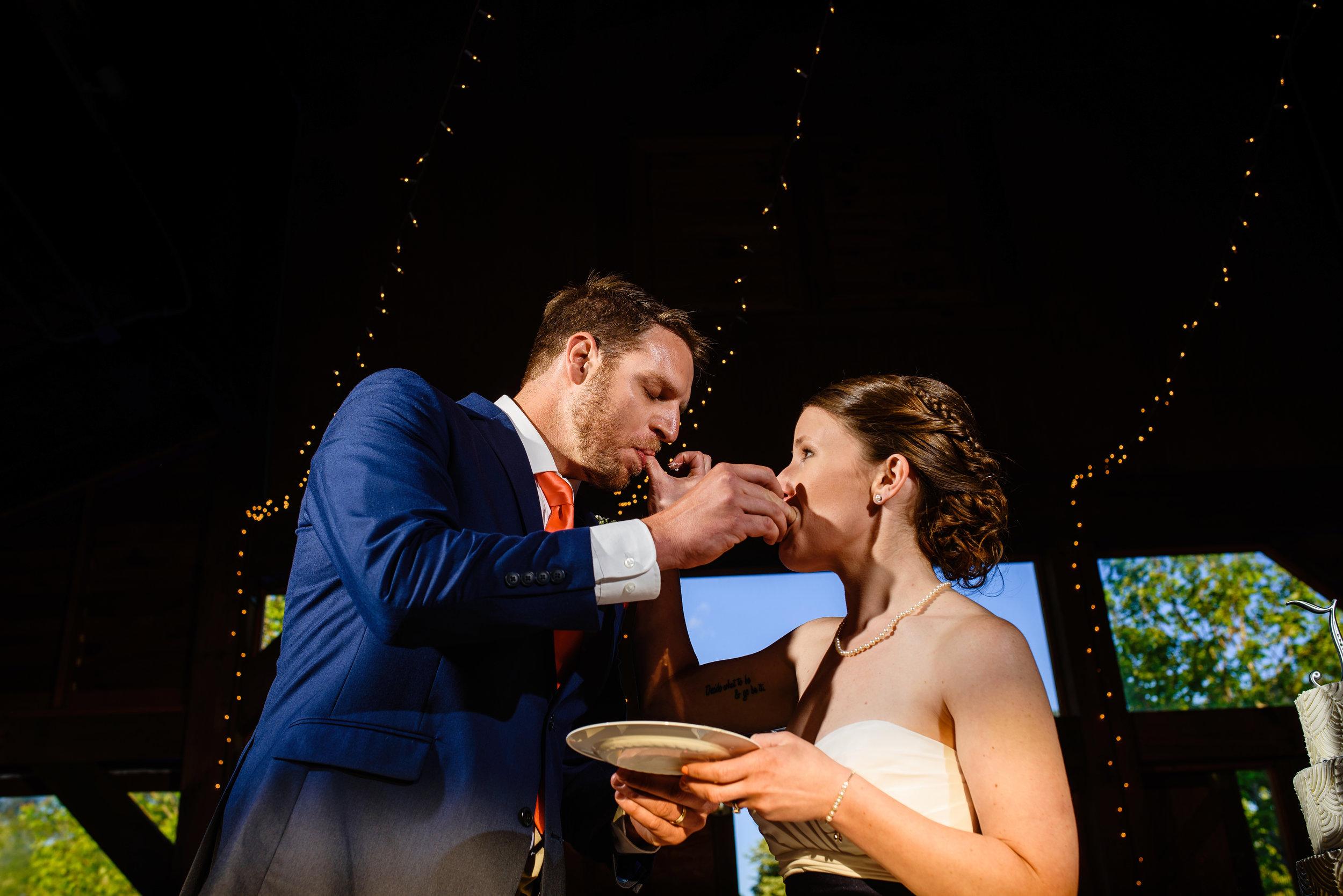 Cake_feeding_wedding_Newport_NC