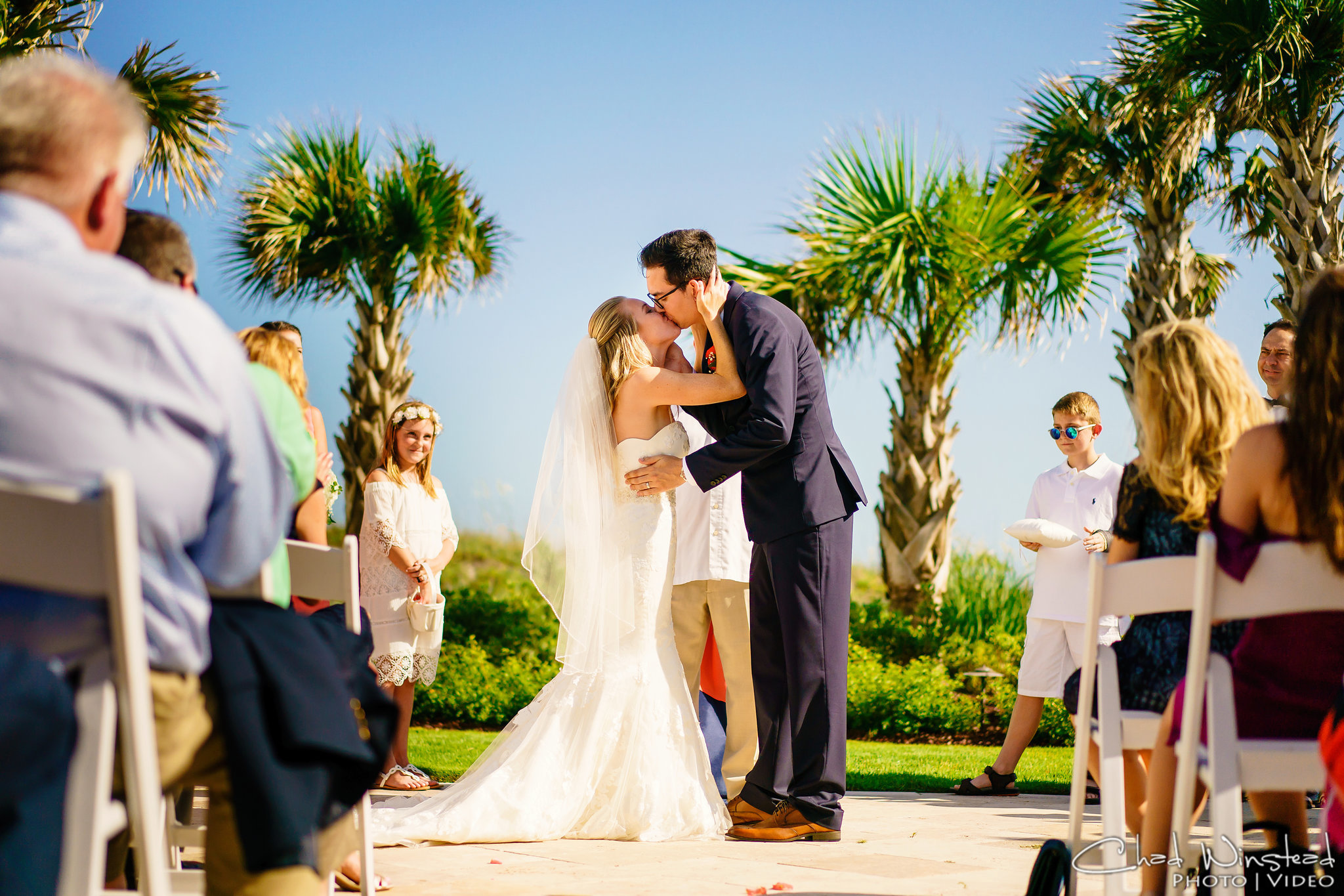 Celebration-cottage-atlantic-beach-nc-first-kiss-wedding.jpg