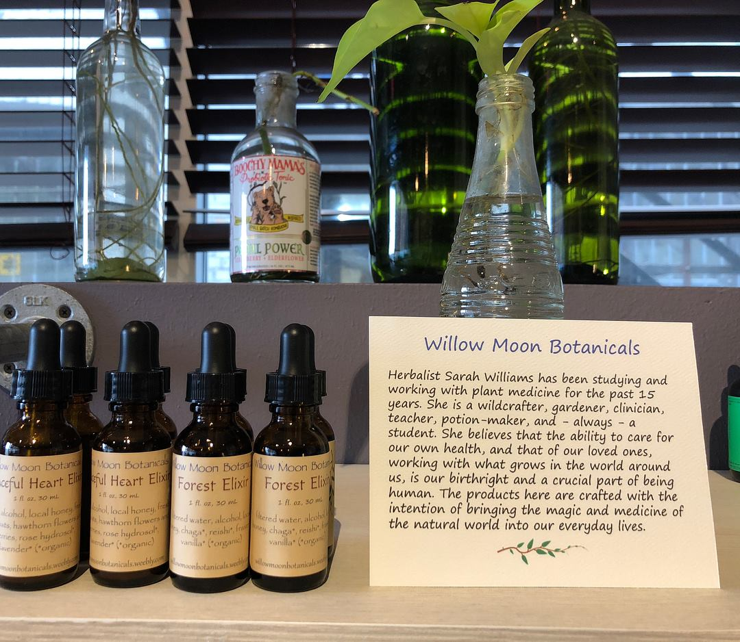 Botanical Elixirs from Willow Moon Botanicals