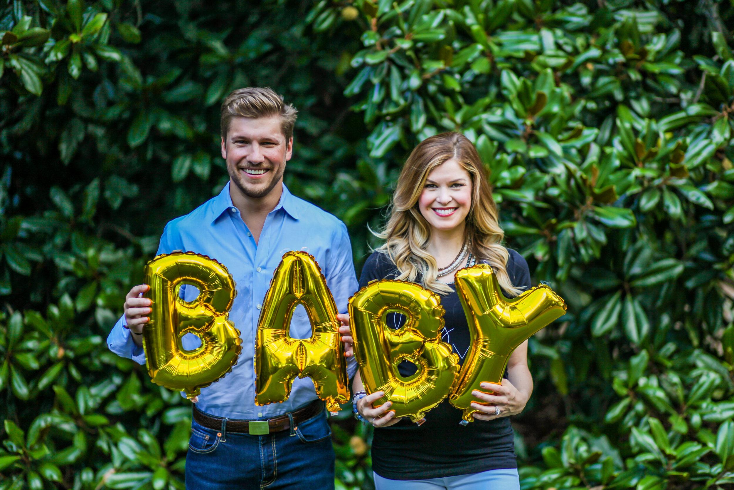 atlanta pregnancy announcement