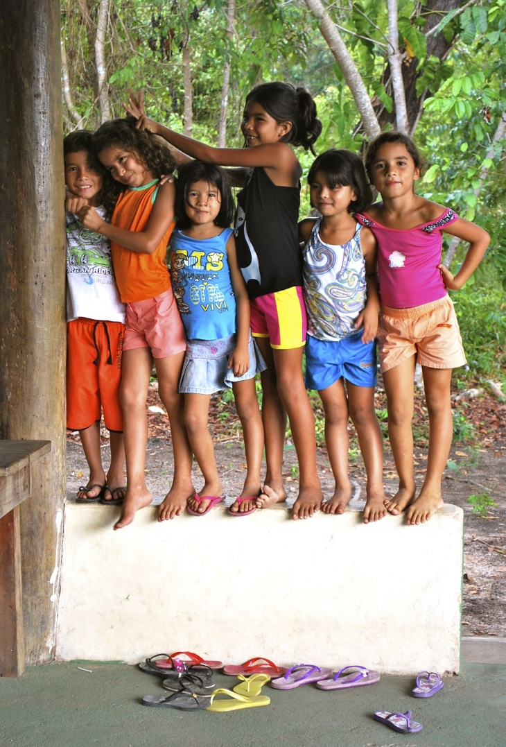 Brazil children playing