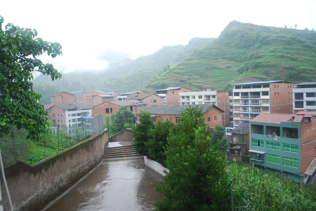 town in Sichuan Province