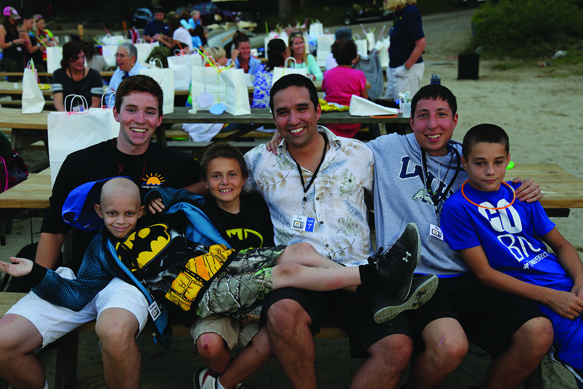 Summer Camp for Kids With Cancer