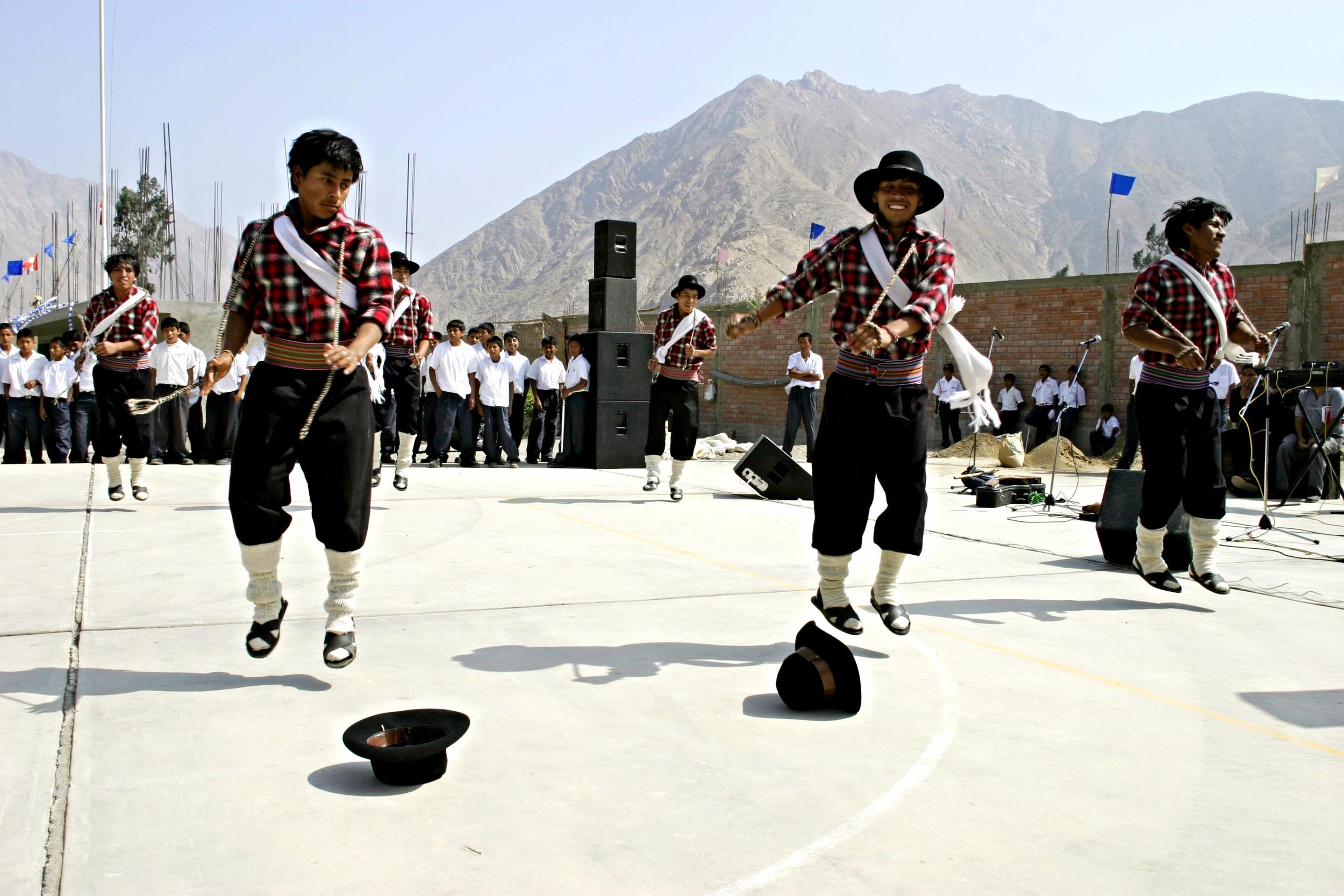 Peru Traditional Dancing