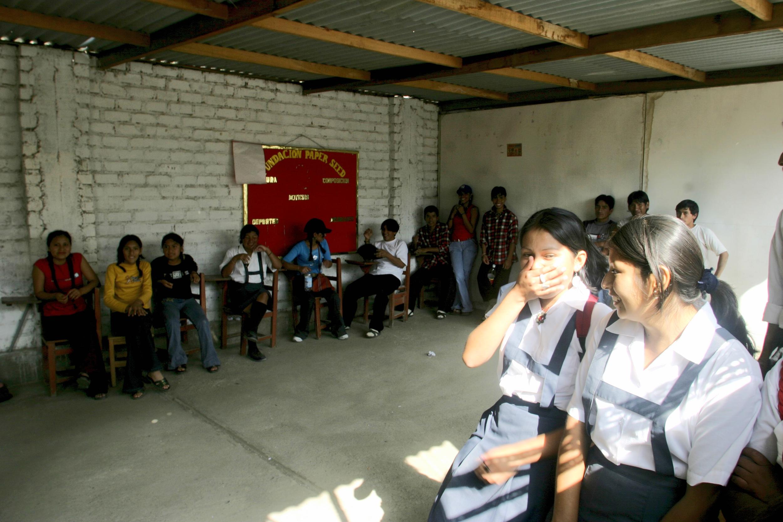 Peru Kids Laughing