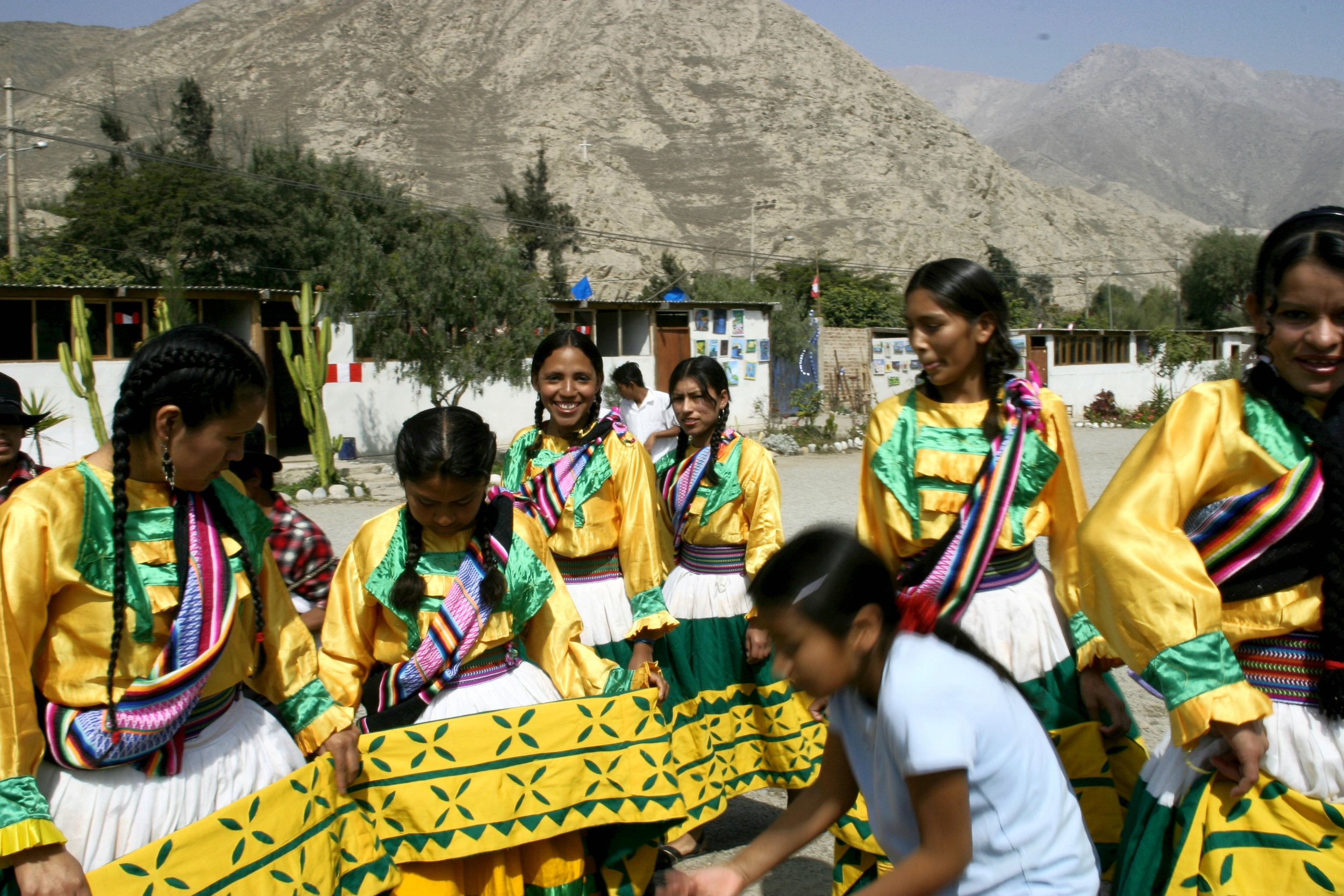 Peru Traditional Garb
