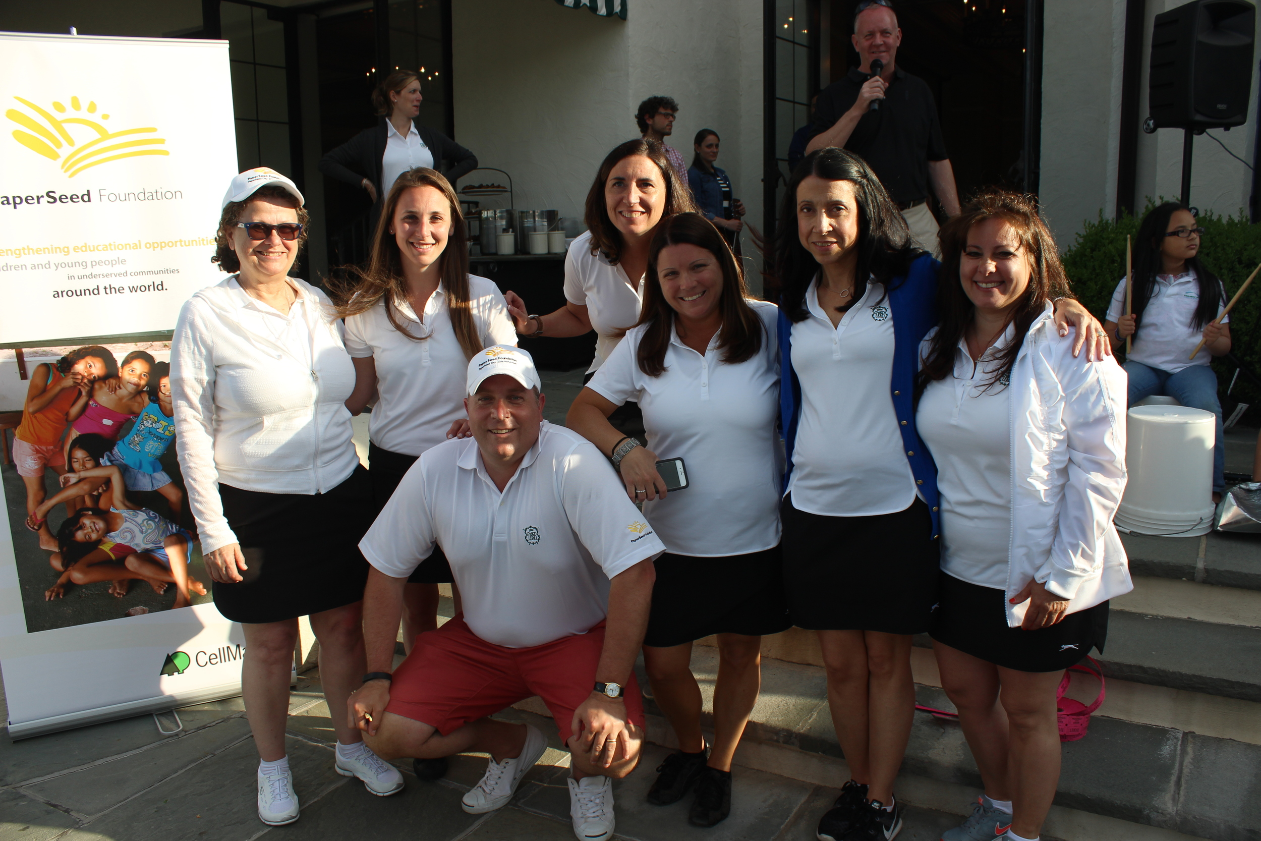 The PaperSeed Norwalk group at the 2016 golf tournament