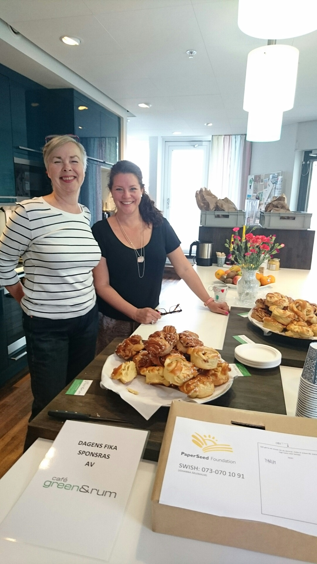 Office Fika with proceeds to benefit PaperSeed