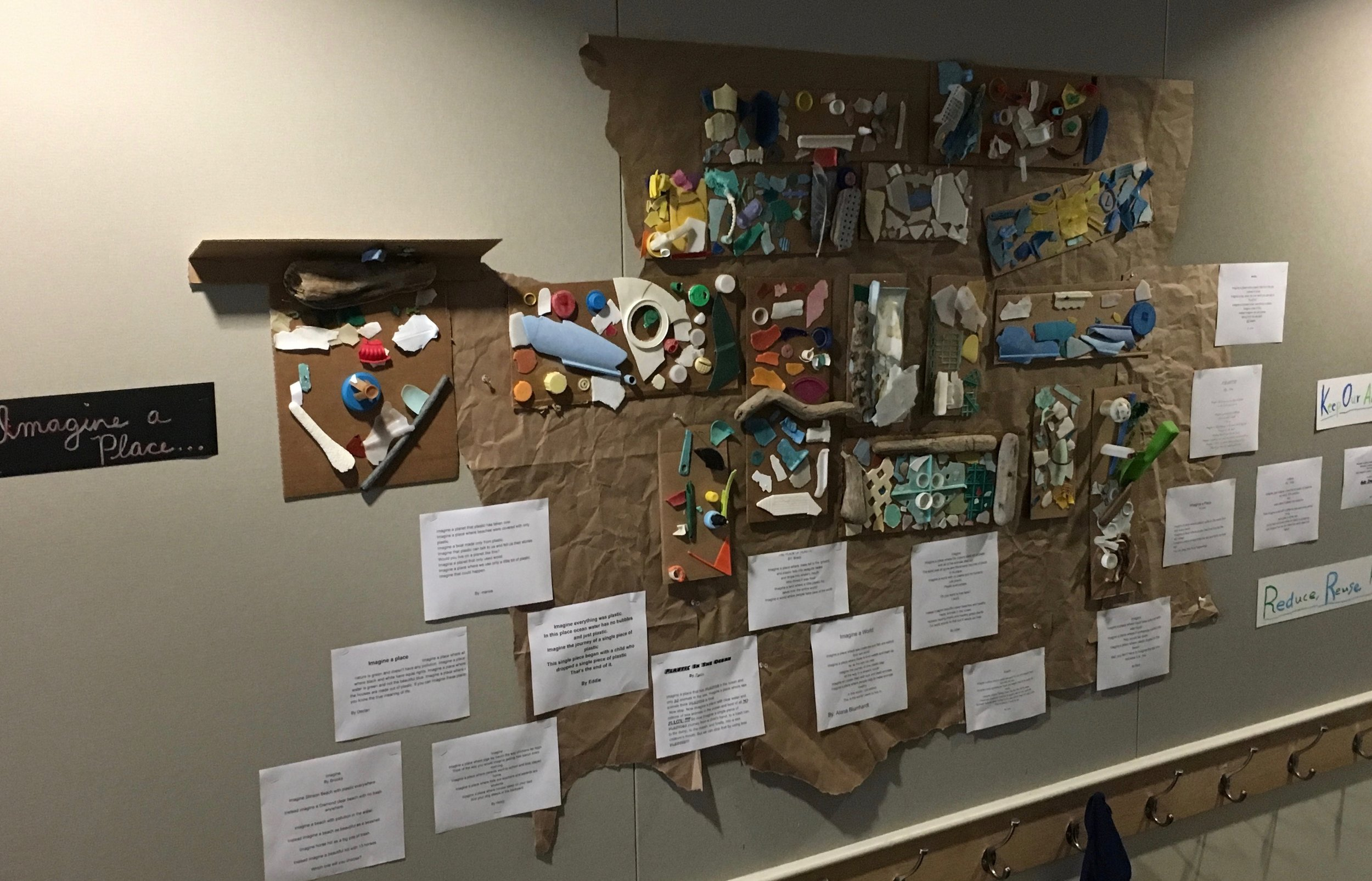 """Ocean Plastics""- Edna Maguire Elementary, 3rd Grade"