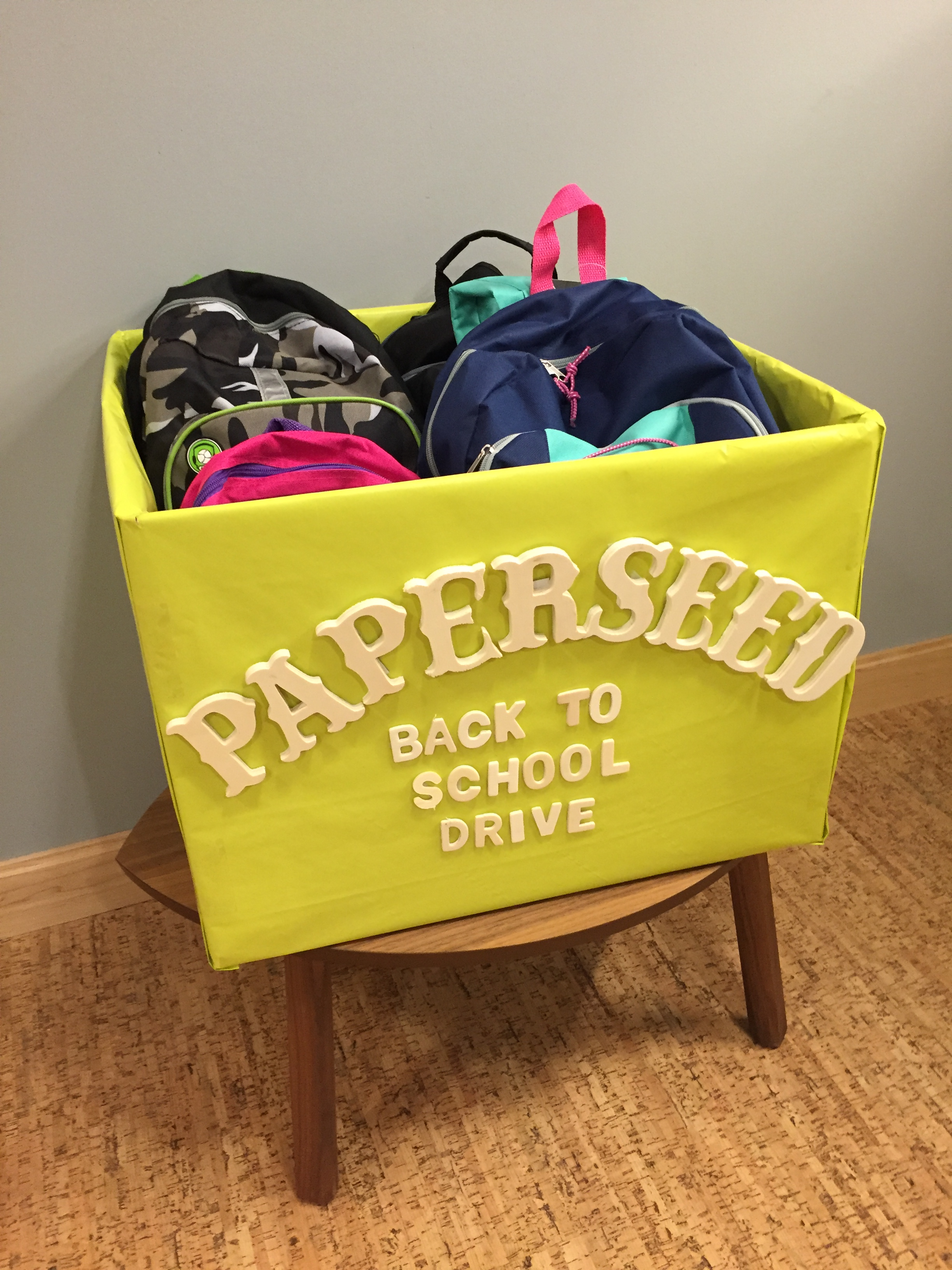 2016 Back-to-School Drive