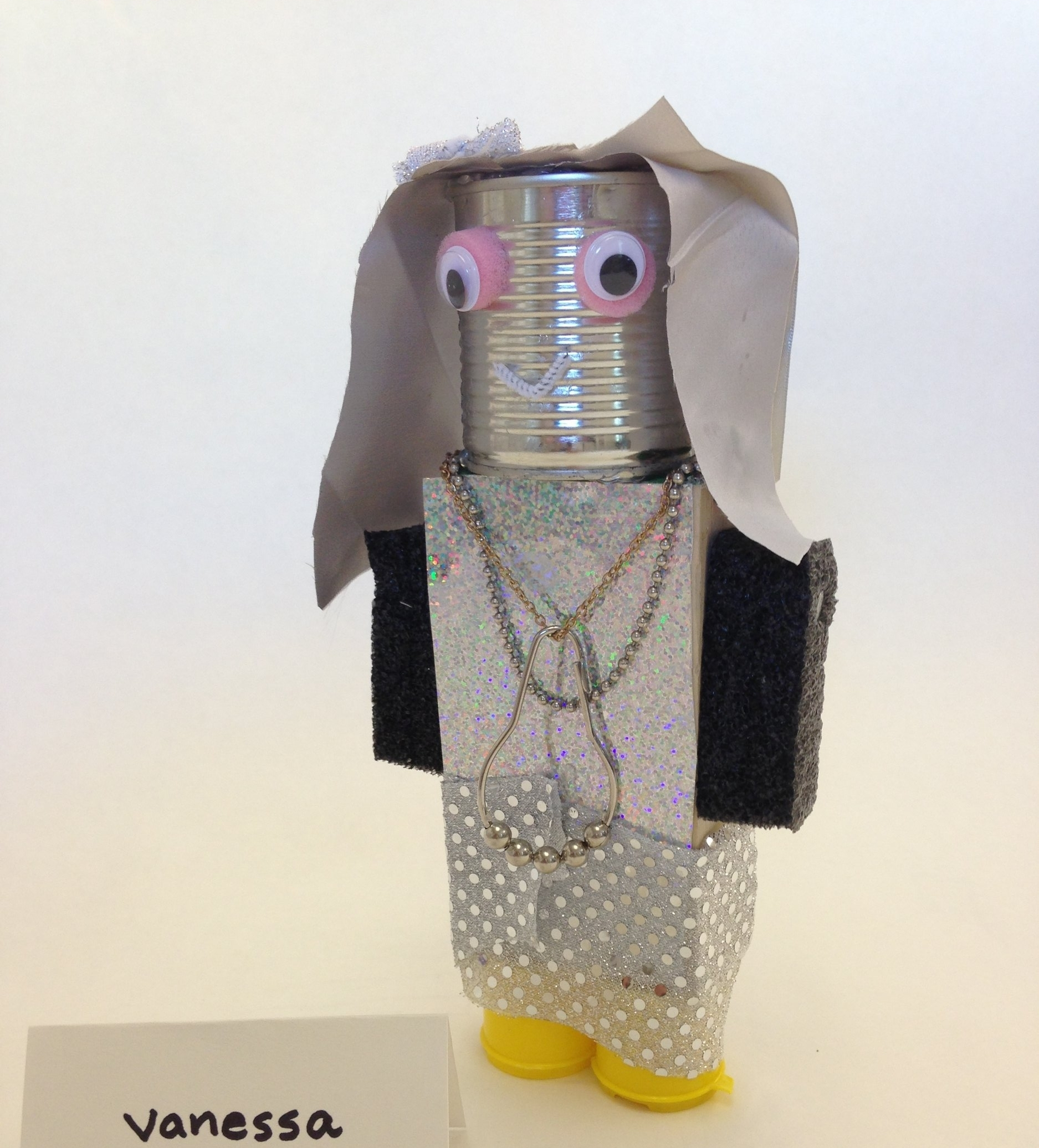 """Vanessa R., """"Recycled Robot""""- Coleman Elementary"""