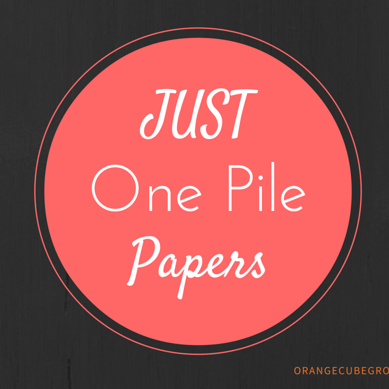 Just One Paper Pile