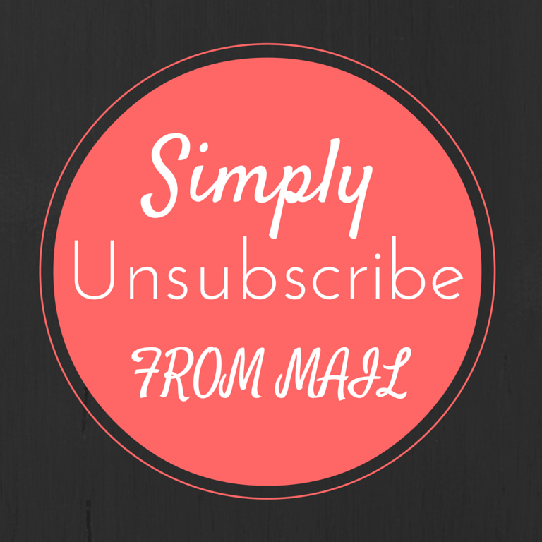 Simply Unsubscribe From Mail