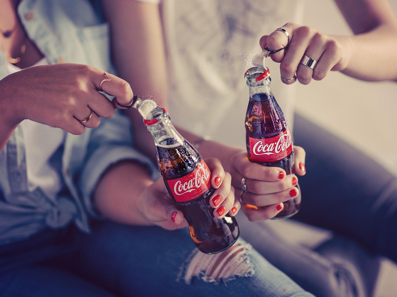 Coca Cola 8oz Ring Pull
