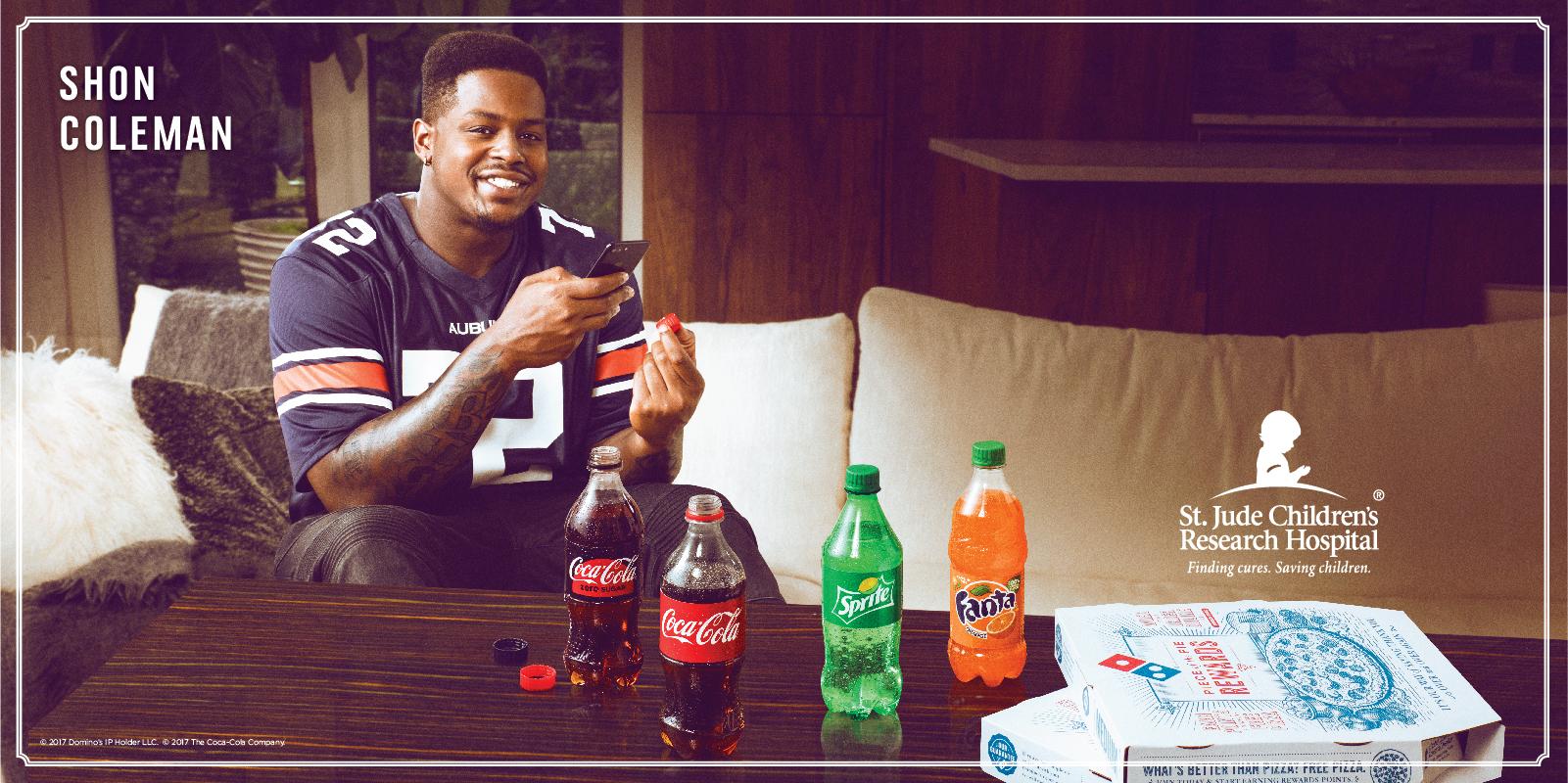 Coke Dominos NFL St. Jude 002