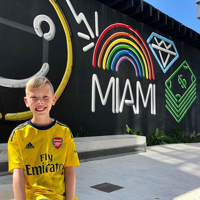 Haven't been to Miami in years.  So much amazing art, culture, food, architecture, and beaches. Having a great time sharing it with my son on a fall break dude trip! • • • @Ken Soons #southbeach #wynwoodwalls #atlphotographer #miami #goodtimes