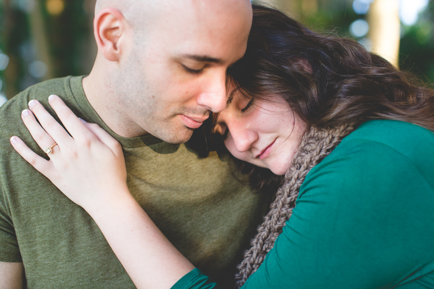 Kraft Azalea Gardens Engagement Photos | Winter Park, Fl
