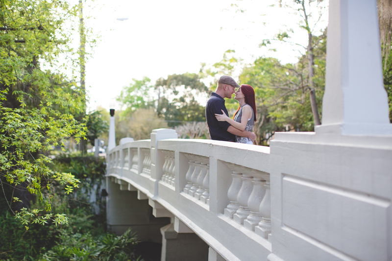 Outdoor Orlando Engagement Session | Engagement Pictures